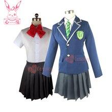 Nouveau Anime votre nom. Cosplay Miyamizu Mitsuha dessin animé Halloween japonais Harajuku femme fille JK école uniforme costume cosplay