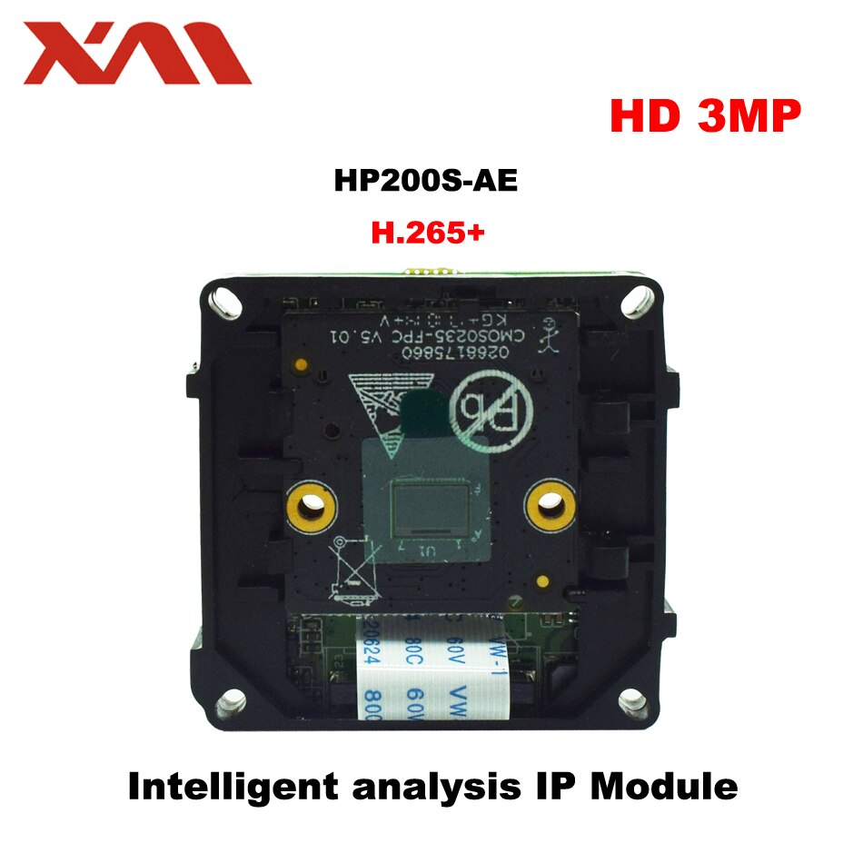 """3.0 m h.265 + módulo ip de análise inteligente ipc 1/2. 7 """"sensor de imagem cmos sc2235 + câmera ip cctv hi3516cv300 com 3/2mp"""