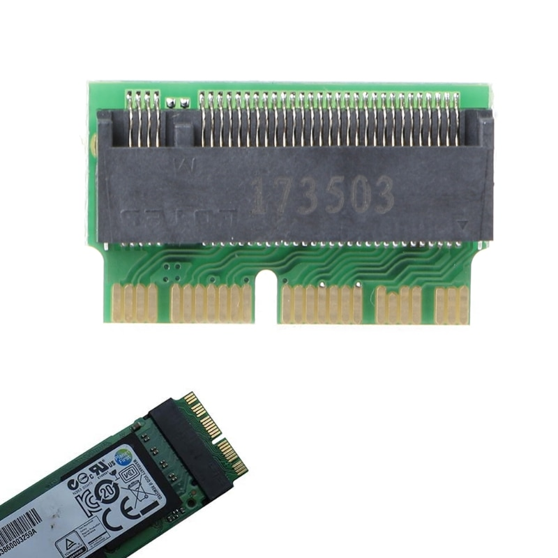 M key M.2 PCI-e AHCI SSD адаптер карта для 2013 2014 2015 ноутбука A1465 A1466 Pro A1398 A1502 A1419 NGFF для MD711 MD712