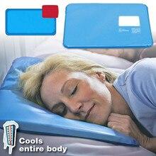 Coussin de refroidissement et de glace   Coussin, coussin de refroidissement et de glace, tapis de thérapie au sommeil, coussin de relaxation, de thérapie musculaire, oreiller de refroidissement et de glaçage