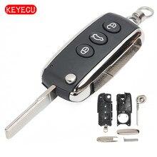 Keyecu Neue Ersatz 3 Taste Remote Auto Schlüssel Shell Fall Fob für Bentley Mulsanne Arnage 2002-2014