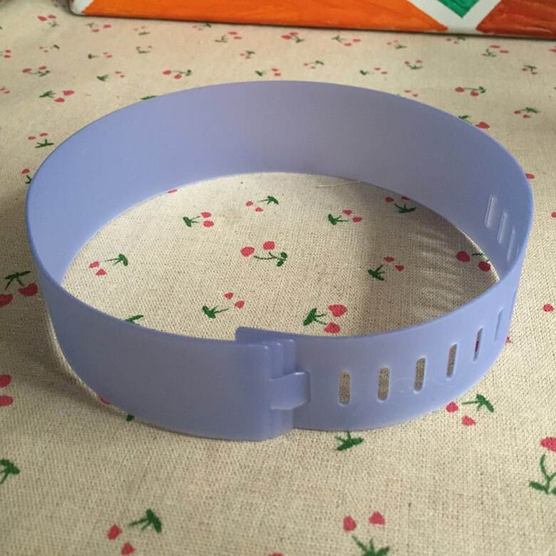 100Pcs Plastic Frosted Collar Band For Shirt Package Clear Collar Holder For Garment Accessories