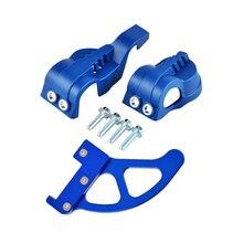 Front Fork Leg Shoes Cover Rear Brake Disc Guard Kit For Husqvarna 125-501 TE FE FC TC FC 250 350 450 BREMBO master cylinders