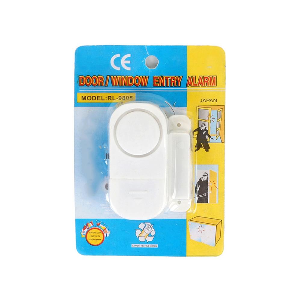 Branco Sem Fio Anti-roubo Detector de Alarme Home Porta Janela de Assaltante Sistema de Alarme de Segurança 2020 Anti-entrada de Alarme Magnético sensor de