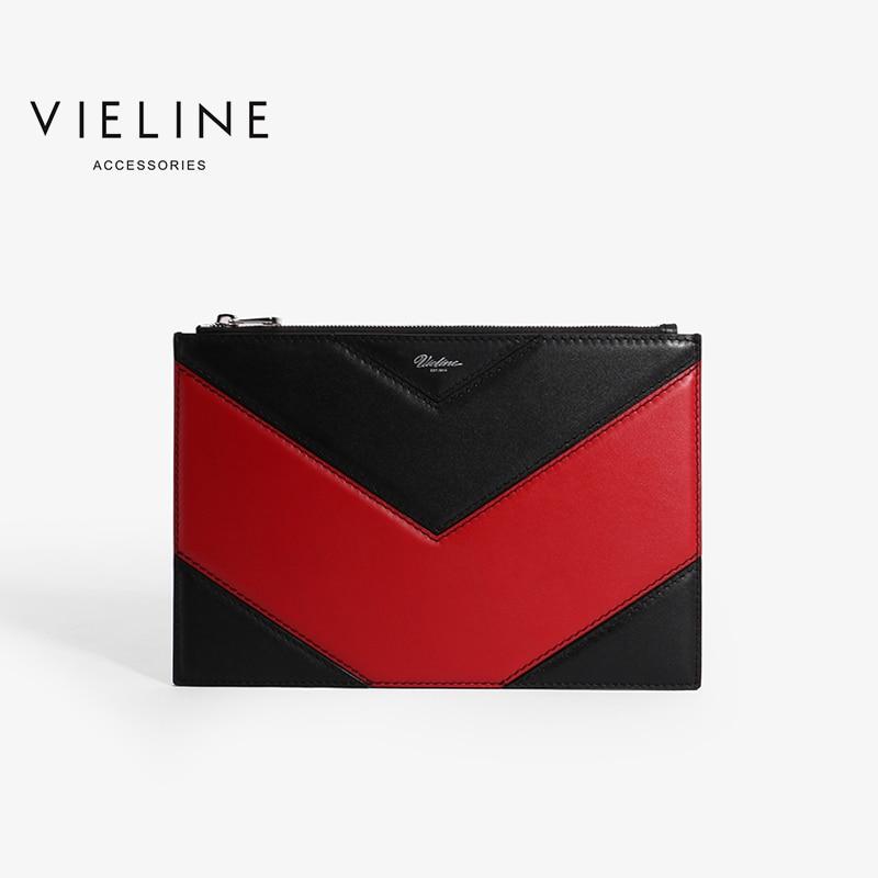 Viline-حقيبة يد نسائية من الجلد الطبيعي ، حقيبة يد من جلد البقر ، عصرية ، ماركة مصممة