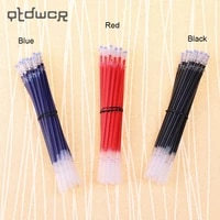 20pcs tube a pack neutral ink gel pen refill good quality refill black blue red 0 5mm bullet refill office stationery supplies