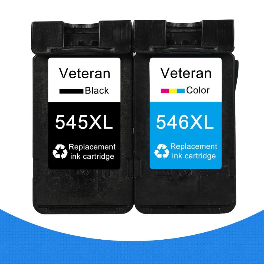 Veteran PG545 CL546 Cartridge for Canon PG 545 CL 546 PG-545 Ink Cartridge for Pixma IP2850 MX495 MG2950 MG2550 MG2450 Printer
