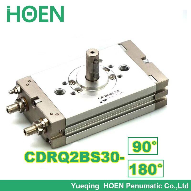 CRQ2 Rack & Pinhão Atuador Rotativo compacto Tipo Air Cilindro Pneumático CRQ2BS30-90 CDRQ2BS30-90 CRQ2BS30-180 CDRQ2BS30-180 C