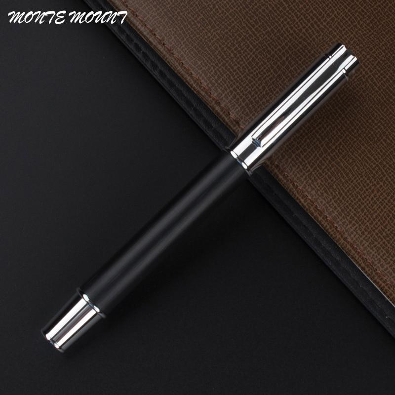 MONTE MOUNT Elegant Pen black wood with Gift roller ball Pen