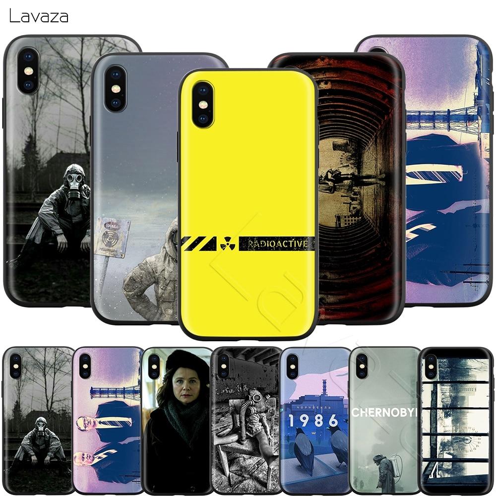 Lavaza desastre de Chernobyl 1986 para iPhone 11 Pro XS Max XR 8X8 7 6 6S Plus 5 5s se