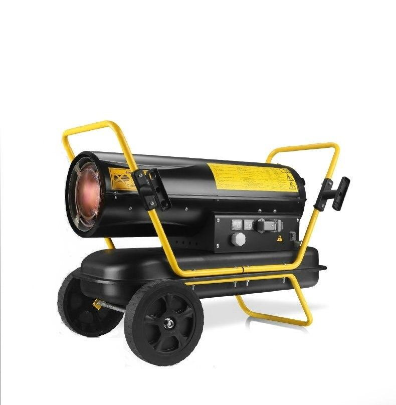 20KW5-50 degrees Celsius 4 block temperature adjustable temperature fuel oil heater; /livestock / forestry /industrial heat fan