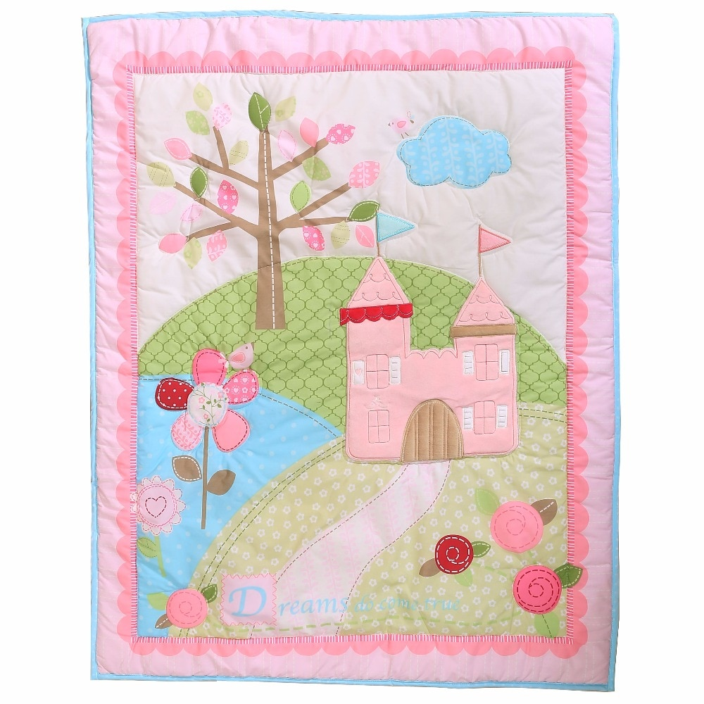 cotton comforter quilt 84*107cm for newborn baby boy and girls