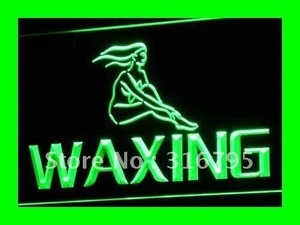 i049 OPEN Waxing Beauty Salon Retail LED Neon Light Light Signs On/Off Switch 20+ Colors 5 Sizes