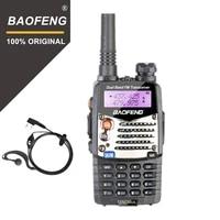 baofeng uv 5ra walkie talkie 5w high power dual band handheld two way ham radio uhfvhf communicator hf transceiver security use