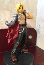Fullmetal, Alchemist, Edward Elric, figuras de acción de juguete, colección de muñecos, modelo T30