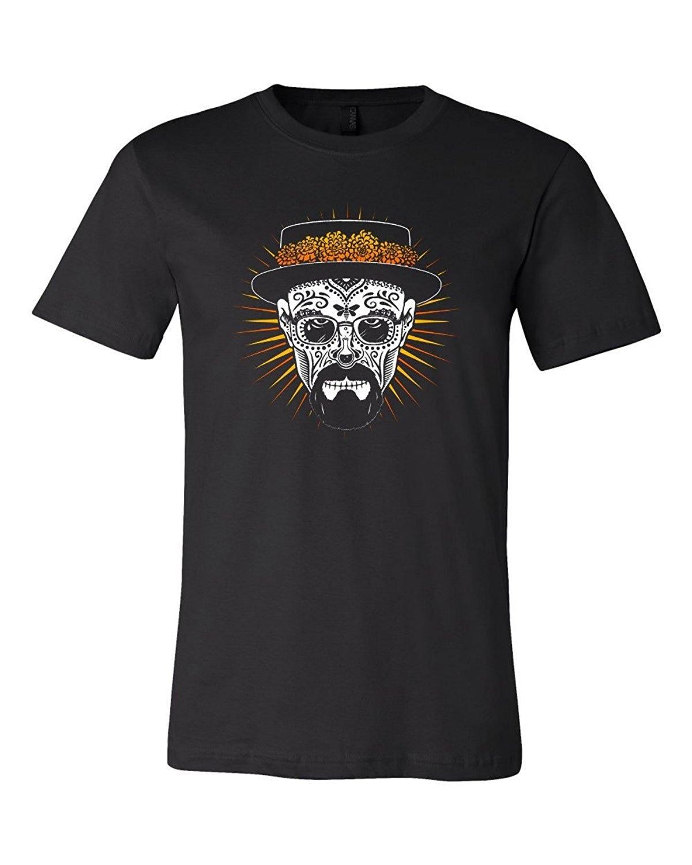100% algodón moda 2019 nueva calavera de azúcar Heisenberg II camiseta