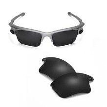 Walleva-lunettes de soleil Mr.Shield   Verres de remplacement polarisants de haute qualité pour Oakley Fast veste XL, 3 couleurs disponibles