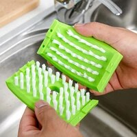 1 pcs cleaning brush kitchen chopsticks forks cleaning brush sucker removable fruit melon tableware cleach brushes tool