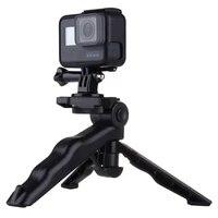 PULUZ Grip Folding Tripod Mount with Adapter   Screws for GoPro HERO5  4  3   3  2  1  SJ4000  Digital Cameras  Load Max  2kg
