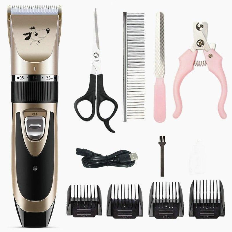 Afeitadora eléctrica para perros, cortadora de pelo eléctrica para perros, Afeitadora eléctrica para gatos y mascotas, afeitadora grande para perros