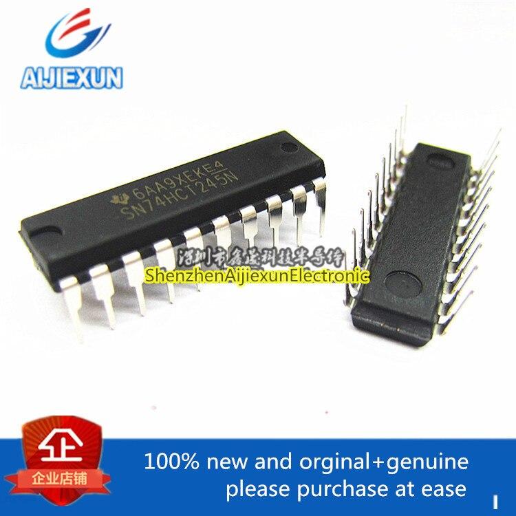 10 piezas 100% original y nueva SN74HCT245N 74HCT245N DIP-20 OCTAL transceptores de BUS con 3-Estado de los productos stock