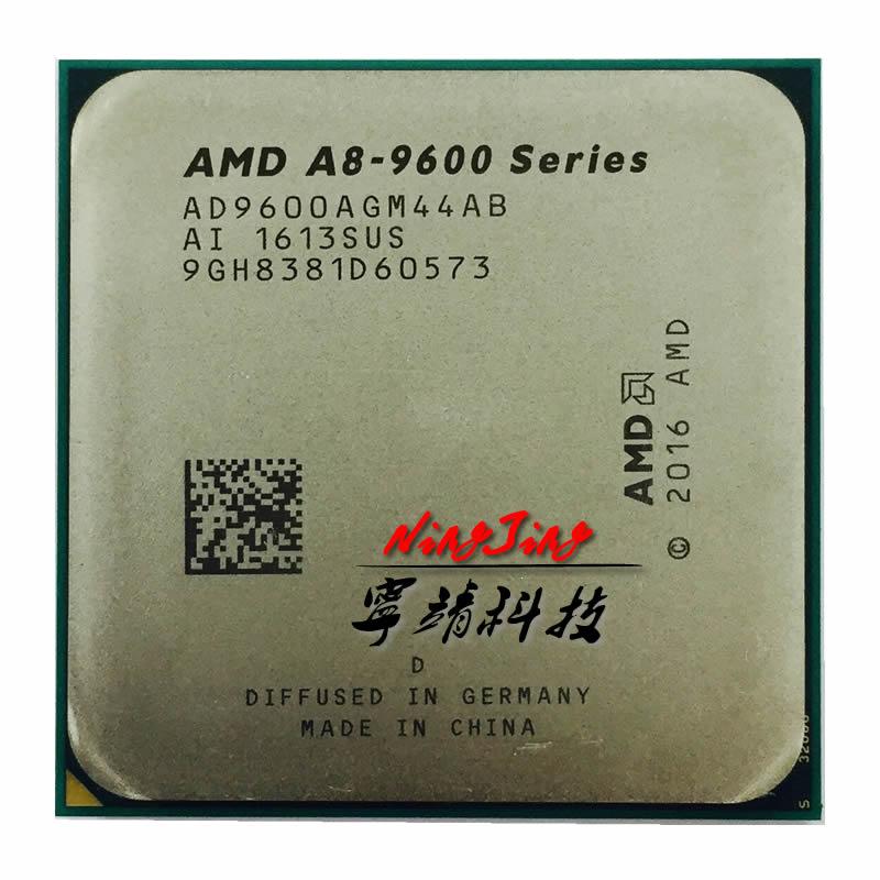 Четырехъядерный процессор AMD A8-Series A8, 9600, 3,1 ГГц, 65 Вт, процессор AD9600AGM44AB Socket AM4, A8-9600