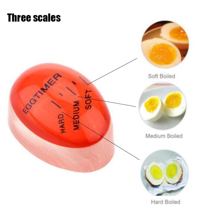 3 pcs Mudando A Cor do Ovo Perfeito Temporizador Yummy Macio Ovos Cozidos Cozinhar Cozinha Temporizador Do Ovo temporizador Vermelho de Resina Ecológica ferramentas