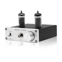 Tubo de Vácuo de Áudio Mini Portátil Headphone Amplifier Board 6K4 NE5532 Bile Febre Op Amp de Fone De Ouvido AUX RCA Amplificador de Fone De Ouvido