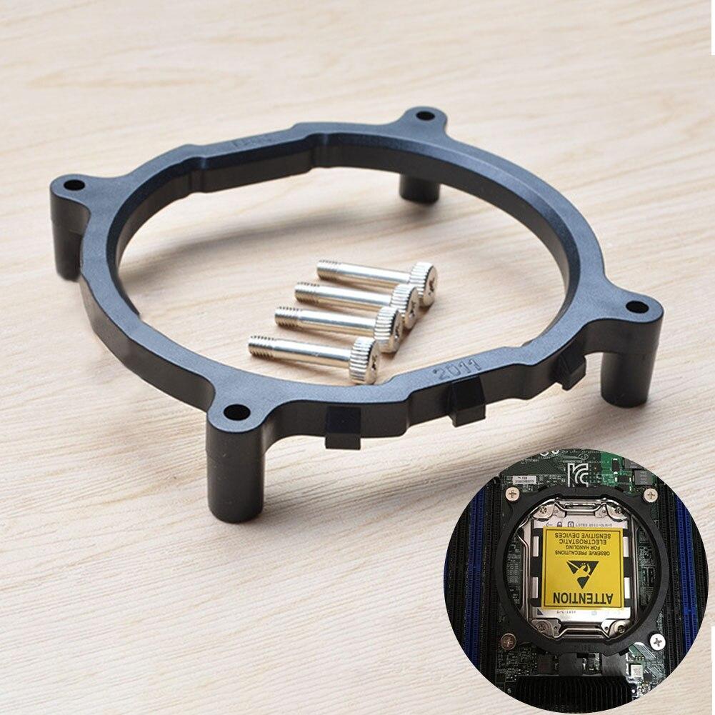 Con tornillos soporte accesorios reemplazo ventilador redondo soporte escritorio CPU disipador de calor de placa Base montaje para Intel