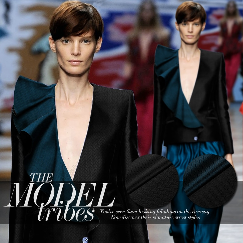 Magnifique tissu soie italienne pour collection   Tissu en soie lourde