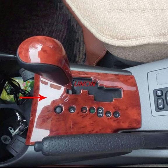 Gear Shift Knob Head Decorative Cover Trim Fit For Toyota RAV4 2009-2013 Accessories Decoration Sticker