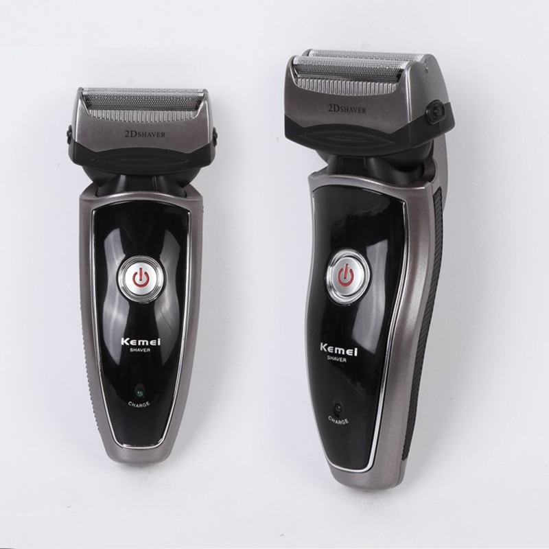 Kemei Competitive Electric Rechargeable Reciprocate Man Shaver Twin Blade Electric Shaving Razors Face Care Free Shipping enlarge