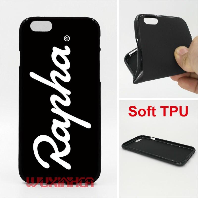 Rapha Logo Phone Cases Soft TPU For iPhone 6 7 Plus SE 5S 4S Touch 6 For Samsung S8 Plus S7 S6 Edge S5 S4 Note 5 4 2016 J3 J5 A5