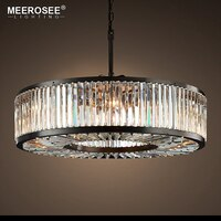 Large Crystal Chandelier Light Fixture Crystal Lamp Illumination Hanging Light for Hotel Project Hall Lustres de Cristal