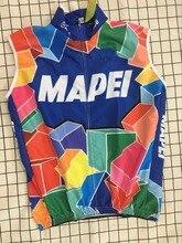 2018 MAPEI equipo Retro clásico de verano chaleco sin mangas para Ciclismo ropa de Ciclismo de montaña bicicleta Maillot bicicleta Ciclismo ropa
