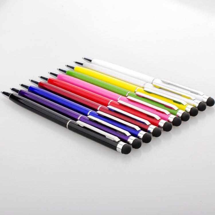 قلم لمس 2 في 1 عالي الجودة ، لأجهزة Ipad Itouch و Iphone 3/4G/4S ، الهاتف الخلوي والكمبيوتر اللوحي والكمبيوتر الشخصي