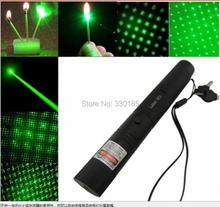 Forte puissance, allumettes de combustion militaires 50000mw 50w 532nm haute puissance laser vert pointeurs lampe de poche laser focus brûler des Cigarettes