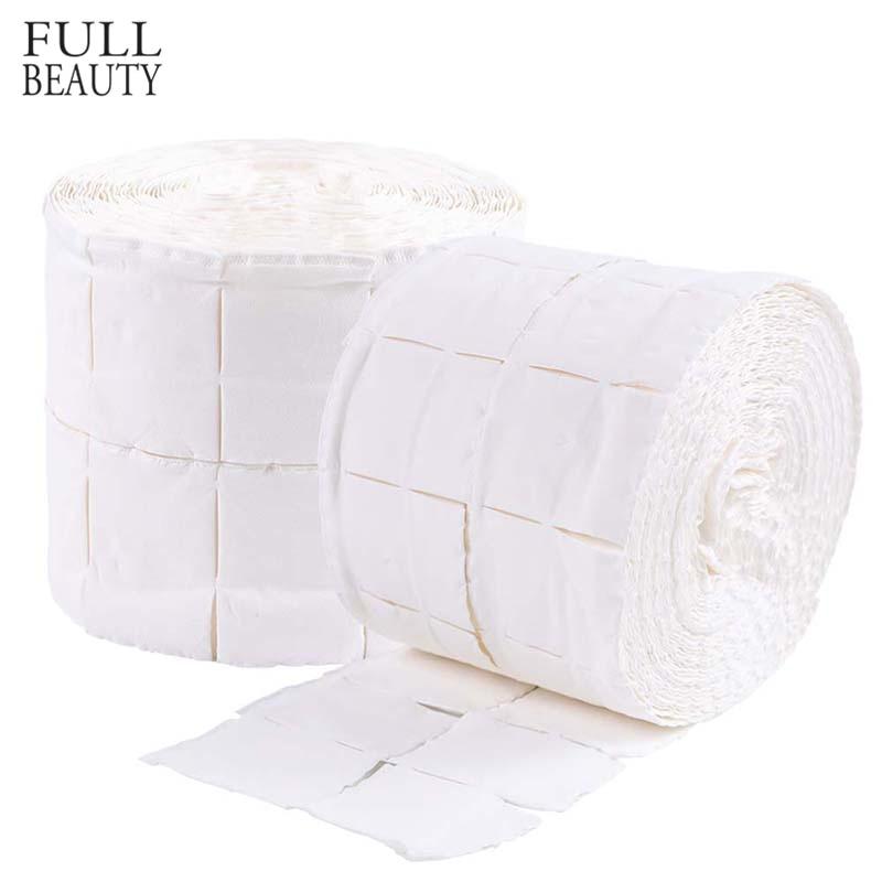 500 шт. гель-лака для ногтей, очищающая хлопковая салфетка, белая, мягкая, отмачиваемая, бумага для маникюра, инструмент для удаления хлопка, доступ CH918