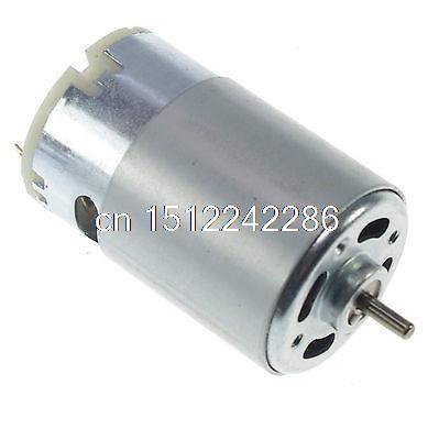 RS555 DC Hobby Motor generador de turbina de 12 V 12 V 6000 RPM alto par de torsión