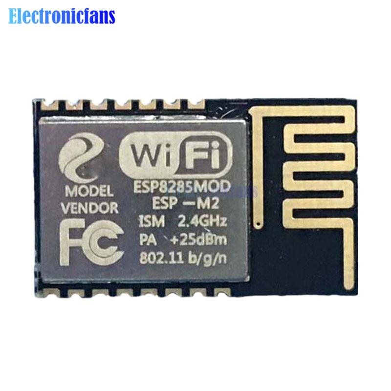 ESP-M2 esp8285 módulo de transmissão sem fio, porta de serial dc 3.3v para esp8266 novo