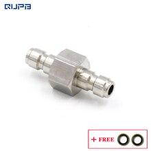 QUPB Pcp Paintball acier inoxydable raccord rapide connecteur mâle prise mâle pour prise dair connexion PTP003