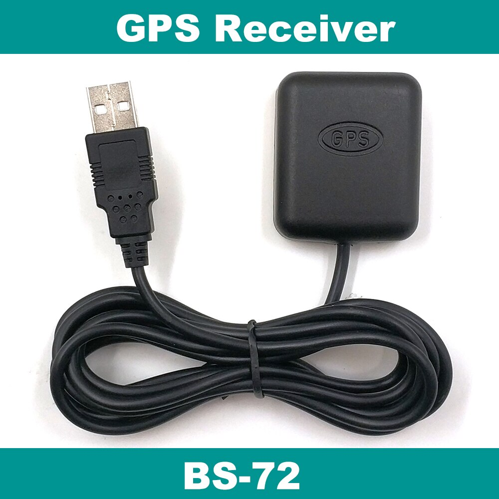 Receptor GPS USB módulo receptor GPS antena PC BS-72 reemplazar BU-353S4 BU353S4