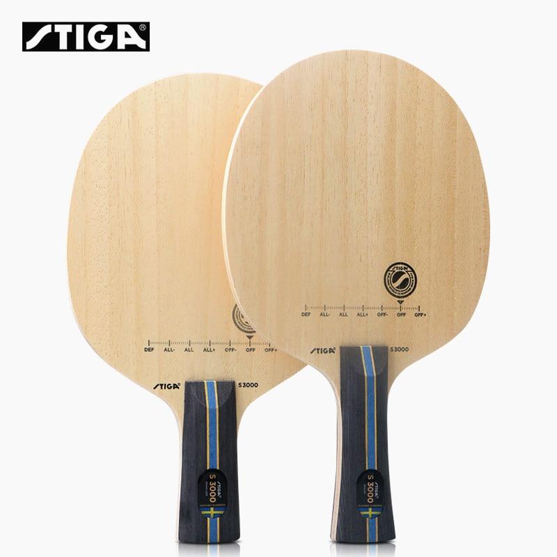 Фото - STIGA S3000 Table Tennis Blade Racket Allround play 5 ply wood Control Original STIGA Ping Pong Bat Paddle stiga control advance арт 1887 01