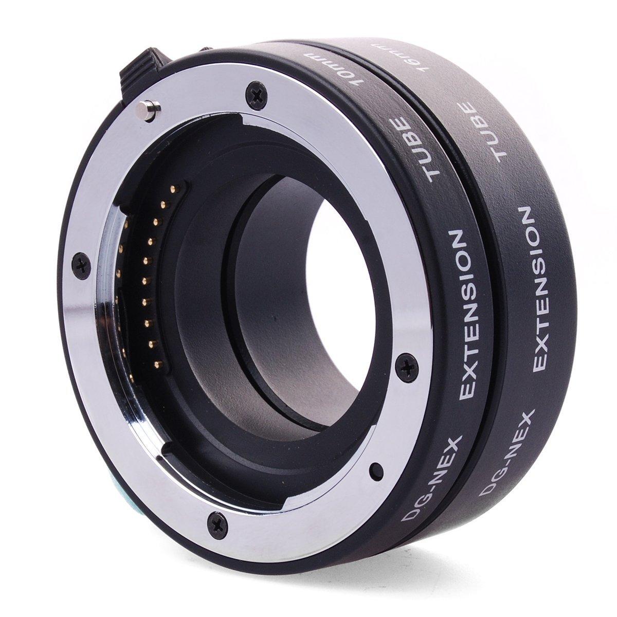 DG-NEX металлическая автоматическая фокусировка AF макро е Автофокус металлическая удлинитель для Sony E-Mount A6500 A6400 A6300 A6000 a7 a9 a7r a7m3