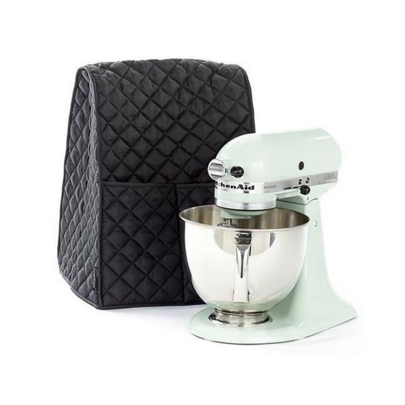 Mikser na stojaku odporna na kurz pokrywa z torbą na organizery do domu pomoc kuchenna pokrywa miksera czarna