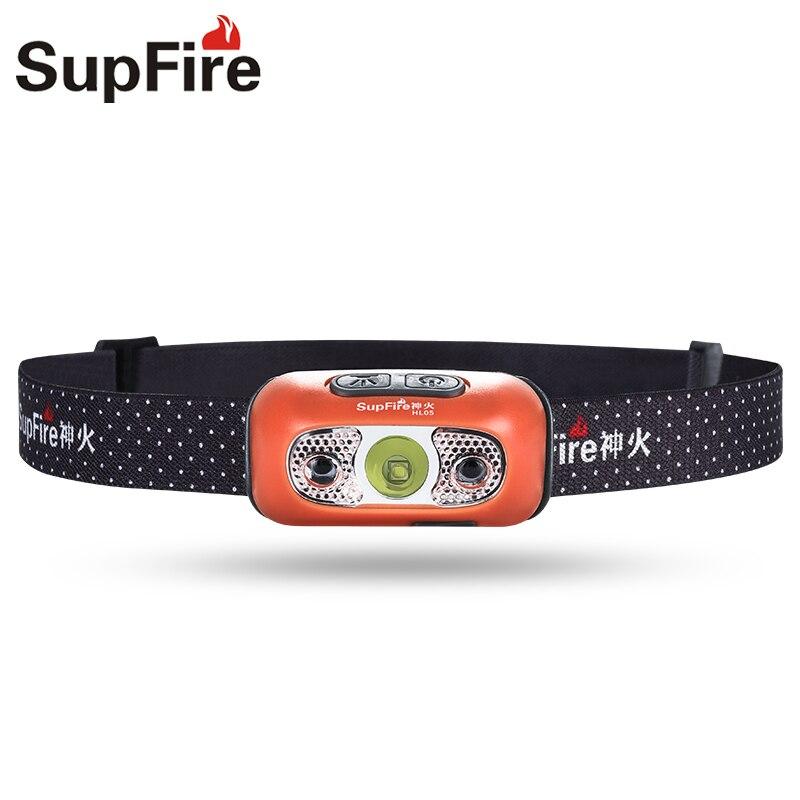 Supfire налобный фонарь USB налобный светильник Lanterna светодиодный HL05 1000lm Linterna Кемпинг налобный фонарь налобный светильник для Fenix Nitecore Sofirn