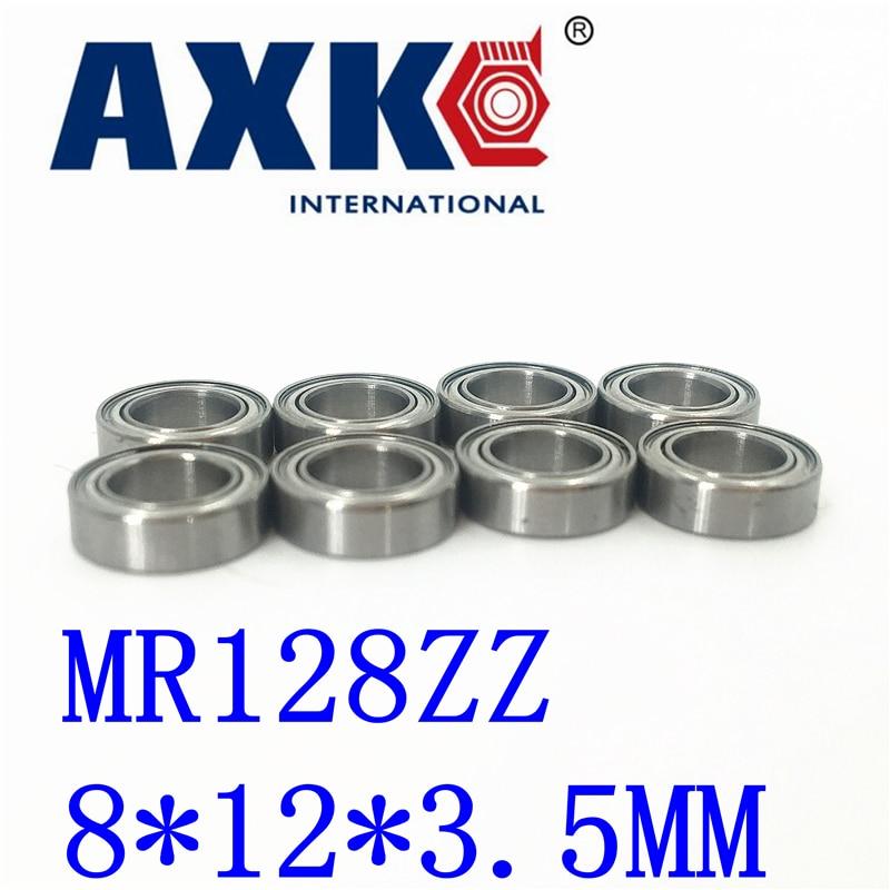 Axk Freies Verschiffen 10 Pcs Mr128zz Abec-5 8x12x3,5 Mm Rillen Kugellager Mr128/L-1280 zz