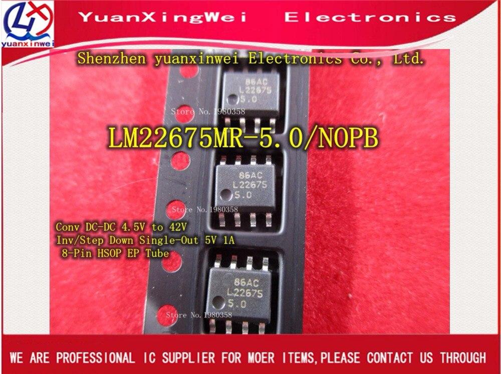 Envío gratis 10 Uds SOP8 LM22675 LM22675MRX-5.0 LM22675MR-5.0 Original y nuevo IC