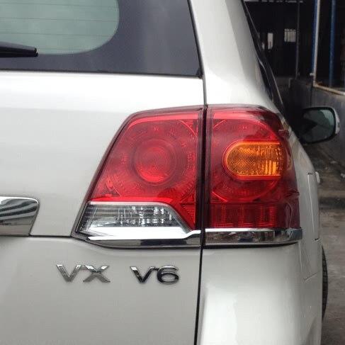 2012-2015 cromo para cubierta de luz trasera para Toyota Land Cruiser 200 FJ 200 Accesorios
