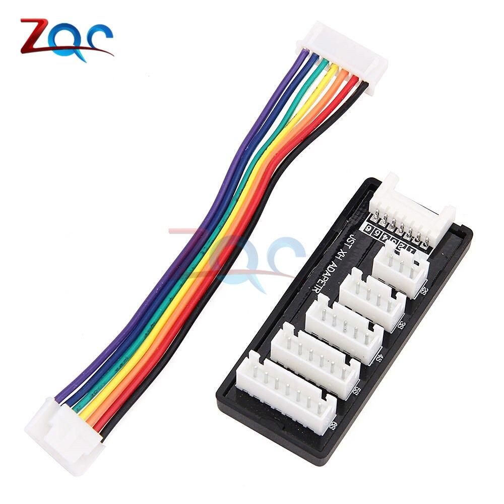Плата расширения баланса для JST-XH 2S 3S 4S 5S 6S LiPo зарядное устройство зарядный адаптер RC для MEGA Power 860
